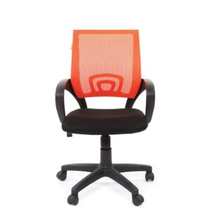 Кресло CHAIRMAN 696 Black/Orange