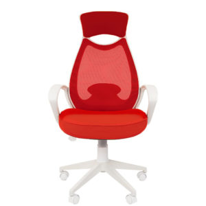 Кресло CHAIRMAN 840 White/Red