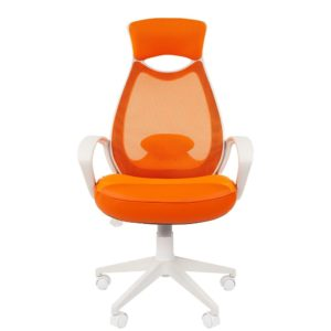 Кресло CHAIRMAN 840 White/Orange